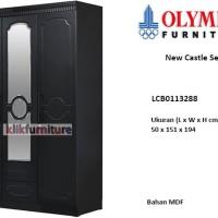 LCB0113288 Olympic New Castle Lemari 3 Pintu