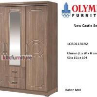 LCB0113192 Olympic New Castle Lemari 3 Pintu