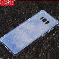 Samsung Galaxy S8 / S8 Plus Edge ANTI CRACK Soft Hard Case TPU thin HP