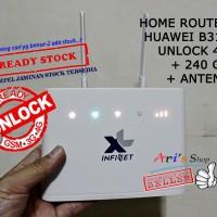 Jual HOME ROUTER HUAWEI 4G LTE B310 B310S XL GO UNLOCK WIFI + ANTENA B315 Murah