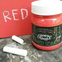 Chalkboard Paint / Cat papan tulis Merah
