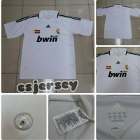Jersey Retro Real Madrid Home 2007 / 2008