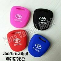 Casing / Silicon Case / Sarung Kunci Remot Mobil Toyota Cayla