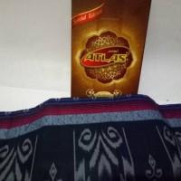 Special Edition Kain Sarung Tenun Atlas Motif Kembang