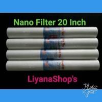 Jual nano cartridge filter air / water filter 20