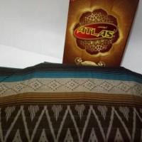 Jual Special Edition Kain Sarung Tenun Atlas motif Kembang Murah