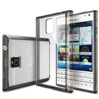 Jual Blackberry bb passport soft case transparant hard cover RINGKE FUSION Murah