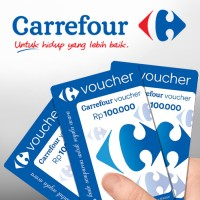 Voucher Carrefour nominal 100rb
