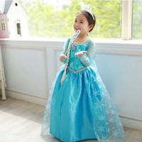 Baju dress frozen elsa / rok / gaun