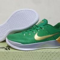 Sepatu Basket Kobe A.D ( AD A D ) Green Gold Isaiah Thomas Hijau Emas