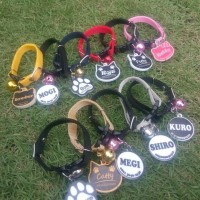 Jual Kalung kucing custom nama Murah