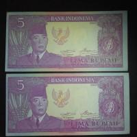 Jual Uang Kuno Indonesia 5 Rupiah Soekarno 1960 Murah