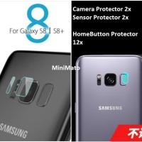 Pelindung Homebutton + Pelindung Camera Samsung Galaxy S8 / PLUS