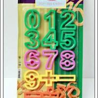 Kitchen Pro Number Plastic Cutter