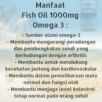 Jual Omega 3 (Salmon Fish Oil + Natural Vitamin E) 1000mg Health N Nature Murah