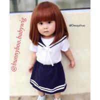 Rambut palsu anak / Wig anak (bayi dan balita)/Babywig ombre