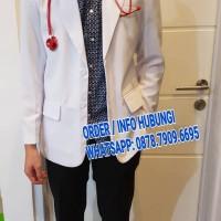 Jas Dokter Snelly DUA SAUDARA LENGAN PANJANG pria
