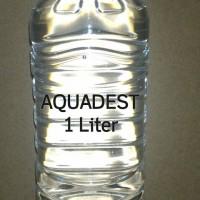 Aquadest / Air Suling / 1 Liter