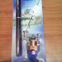 Pen Fishing Rod / Alat Pancing Mini Portable / joran mini
