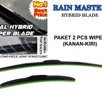 Wiper Mobil Blade HYBRID RAIN MASTER PROTON NEW SAGA BLM 2Pcs KN-KR