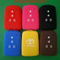 silicon/ kondom remote Toyota all new Sienta Q Tombol