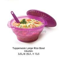 Tupperware Large Rice Bowl Purple
