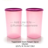Tupperware Snack Keeper 2pcs - Ungu