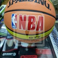 BOLA BASKET SPALDING NBA KARET MURAH
