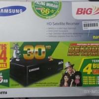 RECEIVER PARABOLA BIG TV SAMSUNG HD GRATIS NONTON 12 BULAN AWAL