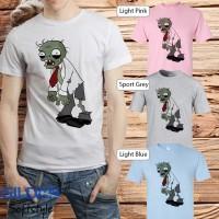 Baju kaos Game gildan lucu animasi Plant vs zombie 21