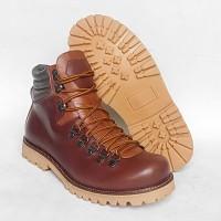 Sepatu Gunung boots pria Jumbo Big Size ukuran BESAR -kulit WATERPROOF