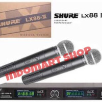 Mic Wireless Shure LX88 III