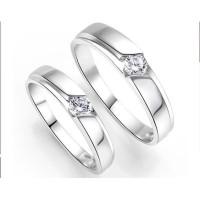 cincin pasangan untuk pernikahan permata satu