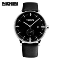 Jual SKMEI ORIGINAL Casual Watch Water Resistant JAM TANGAN ANTI AIR Black Murah