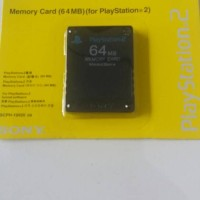 Memory Card Sony PS2 64 Mb - Black - MC PS 2 64MB - Playstation 2