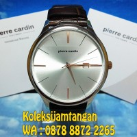 JAM TANGAN PRIA PIERRE CARDIN PC902171F01 SILVER ORIGINAL MURAH