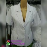 Harga jas dokter wanita perempuan lengan | antitipu.com
