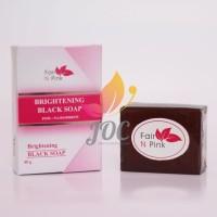 Sabun Fair n Pink / Fair n Pink Whitening Black Soap Original 100%