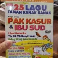 DVD ANAK ANAK 25 LAGU TK KARYA PAK KASUR DAN IBU SUD