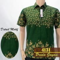 4131 kemeja hem batik Prada Gayam murah grosir seragam batik