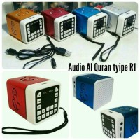 Speaker Advance R1 Al Quran audio murottal digital hafalan murojaah