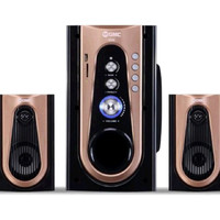 Speaker Home Theater GMC 886M - USB - BLUETOOTH - REMOTE - SD CARD