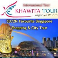 Voucher Wisata 3D/2N Favourite Singapore Shopping & City Tour