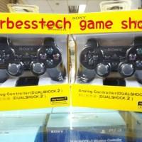 Stick / Stik Sony Playstation Dualshock 2 PS2 Wireless - Hitam