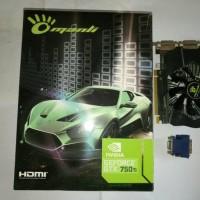 Jual NVidia GeForce Manli GTX 750Ti 2GB DDR5 128bit DVI-I DVI-D Mini HDMI P Murah