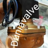 Solenoid valve CKD ADK11-20 (ukuran drat 3/4in)