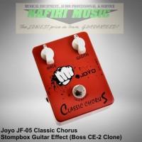 Efek Gitar Joyo JF-05 / Joyo Classic Chorus (Boss CE-2 Clone) Murah