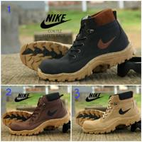 sepatu pria boots nike boots safety tracking original handmade