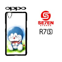 casing hp oppo r7s doraemon wallpaper custom hardcase cover