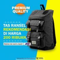 VISVAL MAJESTIC Tas Ransel Backpack Dan Laptop Pria Untuk Backpacker